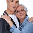 Stock Photo: Love is of no age.