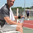 Stockfoto: Tennis player
