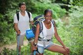 çift hiking — Stok fotoğraf
