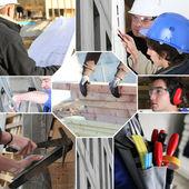 Building mosaic — Zdjęcie stockowe