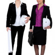 Stock Photo: Women architects