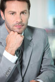 Portrait of a financial consultant — Stock Photo
