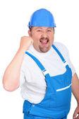 Constructor de hombre feliz — Foto de Stock