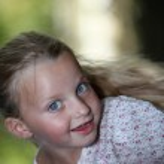 Blond girl — Stock Photo