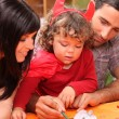 Family spending time together — Stock Photo #8403364