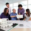 Stock Photo: Firm of architects