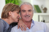 Man with his adoring wife — Stock Photo