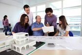 Firm of architects — Stock Photo