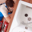 View of a plumber — Stock Photo #8411222