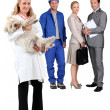 Professionals at work — Stock Photo #8413606