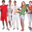 Sports and recreation — Stock Photo #8419552