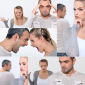 Couple arguing — Stock Photo
