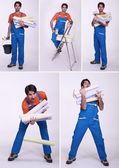 Nemotorný pracovník — Stock fotografie