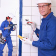 Electrician — Stock Photo #8454313