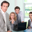 Business team — Stock Photo #8455175