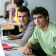 Foto de Stock  : University students
