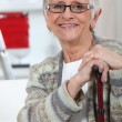 Elderly woman — Stock Photo #8458050