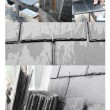 Slate roof mosaic — Stock Photo