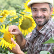 Stock Photo: Portrait of farmer