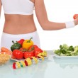 Leading a healthy lifestyle — Stock Photo