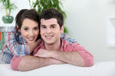 Young affectionate couple — Stock Photo