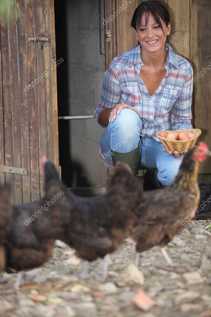Фото девушек из курицы