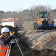 Stock Photo: Surveyor on site