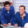 Two depot workers — Stock Photo #8473958