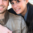 Young couple posing - Stock Photo