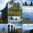 Stock Photo: Pictures of Easter Island