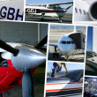 Stock Photo: Aircraft models