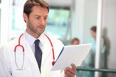 Retrato de um médico — Foto Stock