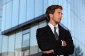 Handsome young executive — Stock Photo