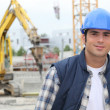 Construction worker — Stock Photo #8487221