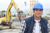 Construction worker — Foto de Stock