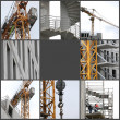 Stock Photo: Building under construction