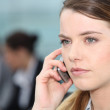 Businesswoman on the phone — Stock Photo #8539180