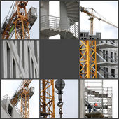 Budova ve výstavbě — Stock fotografie