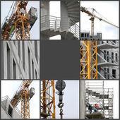 建設中のビル — ストック写真