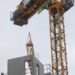 Stock Photo: Tower crane
