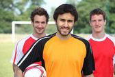 Football players — Stock Photo
