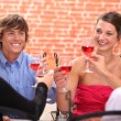 Dinner party — Stock Photo