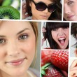 Teens and healthy food — Stock Photo #8552707
