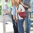 Group of students — Stock Photo #8555187