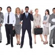 Business team — Stock Photo #8556031