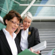 Stock Photo: Senior businesswomen