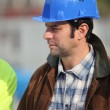 Foreman on building site — Stock Photo #8558543