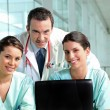 Hospital teamwork — Stock Photo