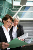 Senior businesswomen — Stock Photo