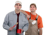 Painter and decorator — Stock Photo